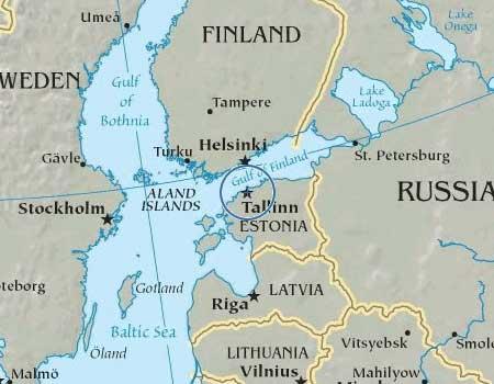 Ley Lines Map Estonia